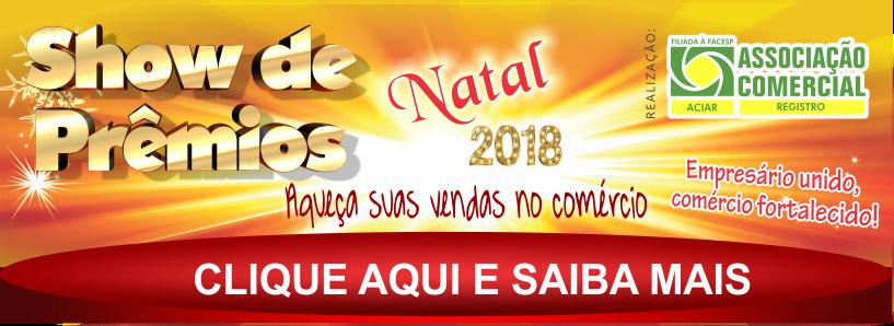 Show de Prêmios Natal 2018