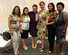 Deputada estadual Janaina Paschoal, com o pessoal da ACIAR e Marcia Baptista