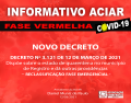 Notícia: NOVO DECRETO | RECLASSIFICAÇÃO FASE  EMERGENCIAL.