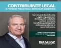 Notícia: Facesp lança Manual de Orientação sobre a Lei do Contribuinte Legal