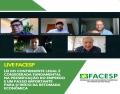 Notícia: Live da Facesp: Contribuinte Legal é fundamental na preservação do emprego e um passo importante para o início da retoma