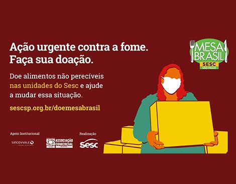Notícia: ACIAR e SESC REGISTRO promovem campanha contra a fome