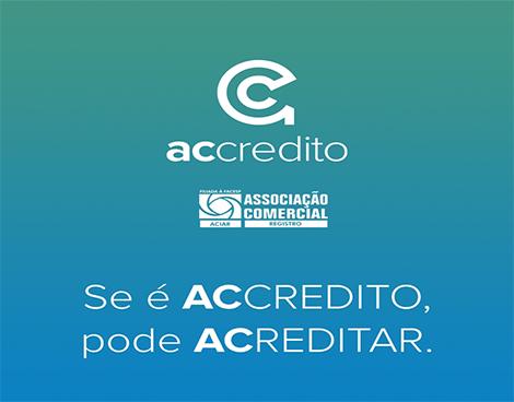 Notícia: ACIAR e ACCREDITO lançam linha de crédito 100% digital para atender associados